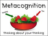 Metacognition Salad Mini Poster