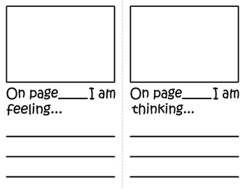 Metacognition Thinking Stem Book and Response Sheet