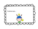 Metacognition Thinking Stems Spanish Dual Immersion Refere