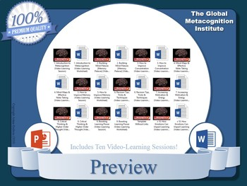 Metacognition Video-Training Sessions (x10)