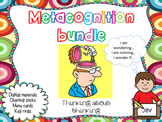 Metacognition thinking stems and questions bundle