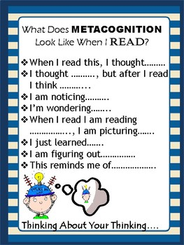 Metacognition in Reading