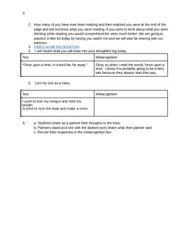 Metacognition using GRR First 20 Days