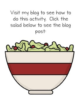 Metacognition with Reading Salad {FREEBIE}