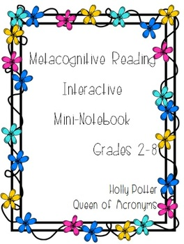 Metacognitive Reading Strategies Mini-Book