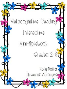 Metacognitive Reading Strategies Mini-Book