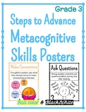 Metacognitive Skills Posters for Steps to Advance - Grade 3