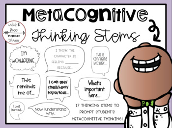 Metacognitive Thinking Stems