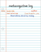 Metacognitvie Log Prompts