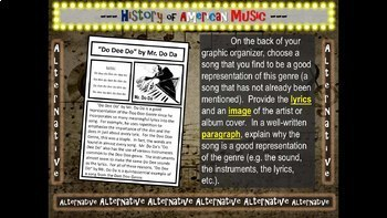 Metal: A comprehensive & engaging Music History PPT (links, handouts & more)