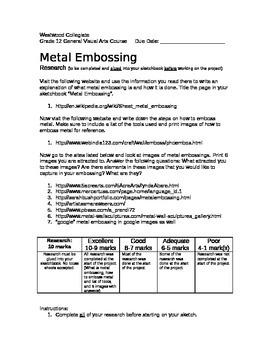 Metal Embossing