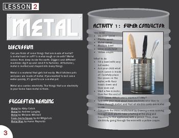 Metal Lesson Plan