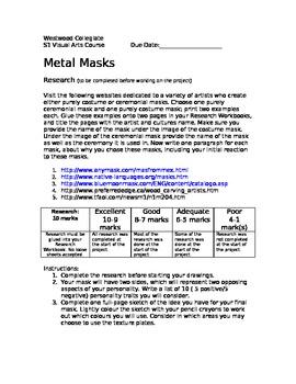Metal Masks