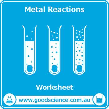 Metal Reactions [Worksheet]