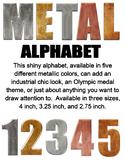 Metallic Alphabet Bundle