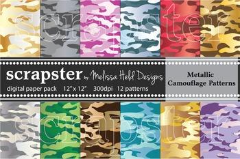 Camoflage Patterns: Metallic