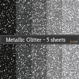 Metallic Glitter Paper