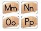 Metallic Gold Word Wall Alphabet