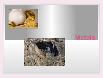 Metals Intro Ppt