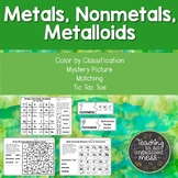 Metals, Nonmetals, and Metalloids Middle School Science Ac