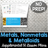 Metals Nonmetals Metalloids - Supplemental Lesson - No Lab