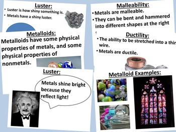 Metals, Nonmetals, Metalloids Unit