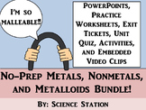 Metals, Nonmetals, Metalloids Unit