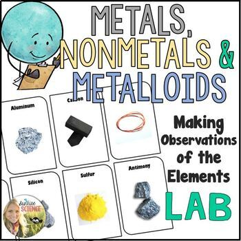 Metals Nonmetals and Metalloids Properties Lab