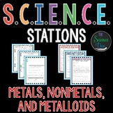 Metals, Nonmetals, and Metalloids - S.C.I.E.N.C.E. Stations