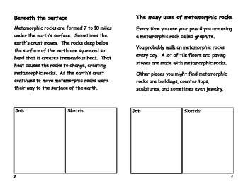 Metamorphic Booklet