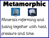 Metamorphic Rock Poster