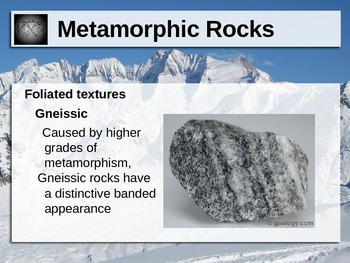 Metamorphic Rock Power Point