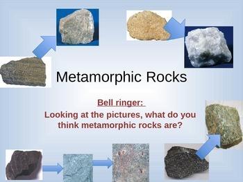Metamorphic Rock Power Point Presentation