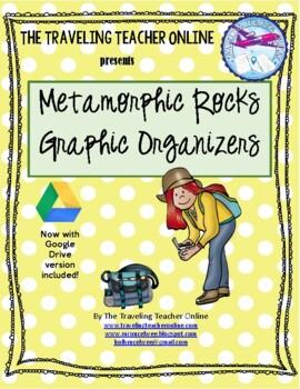 Metamorphic Rocks Graphic Organizer