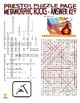 Metamorphic Rocks Puzzle Page (Wordsearch and Criss-Cross Grid)