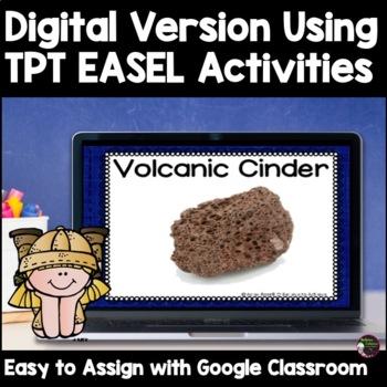 Metamorphic Rocks Word Wall Cards