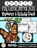 Metamorphosis-Charts/Diagrams/Activities for Anchor Charts/Interactive Notebook