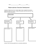 Metamorphosis Excerpt Collections 10th Grade graphic organizer