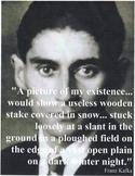 Metamorphosis Kafka CCS, close readings, vocab, tests, essays, questions & more