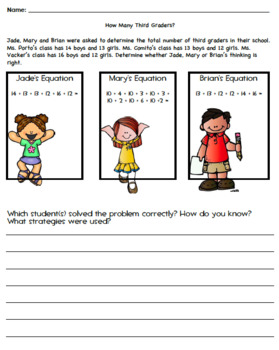 Metamorphosis Math Lesson Plans & Centers Aligned w/Go Math 3rd Grade Unit 1