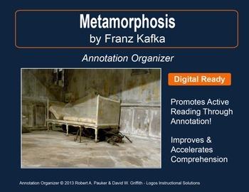 """Metamorphosis"" by Franz Kafka: Annotation Organizer"