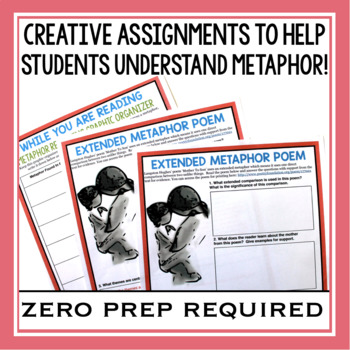 METAPHOR ACTIVITIES, ASSIGNMENTS, TASK CARDS, & MORE!