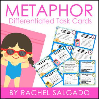 Figurative Language: Metaphor Task Cards
