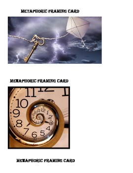 Metaphor Framing Cards: Lesson closure, debrief, and summary activity