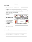 Metaphor Guided Notes