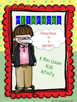 Metaphor Mini Lesson and Activities Common Core Aligned