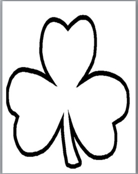 Metaphor, Personification, Simile - Shamrock - St. Patrick's Day Themed