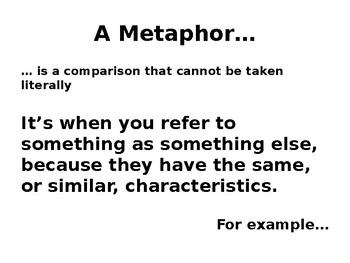 Metaphor Poems PowerPoint Presentation