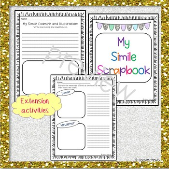 Metaphor/Simile Sorts and Practice