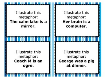 Metaphor Task Cards